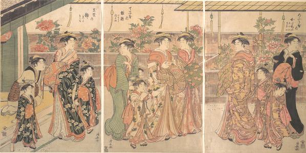 Torii Kiyonaga: The Peony Show - Metropolitan Museum of Art