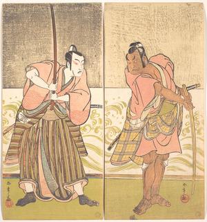 Katsukawa Shunsho: The Actor Sakata Hangoro II and the Actor Matsumoto Koshiro IV - Metropolitan Museum of Art