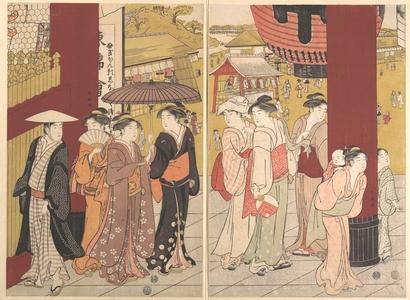 勝川春潮: - メトロポリタン美術館