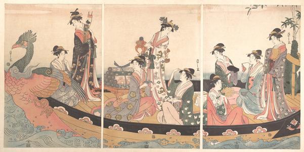 Hosoda Eishi: The Treasure Boat - Metropolitan Museum of Art