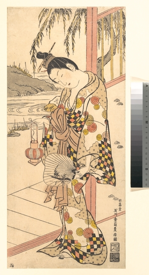 Ishikawa Toyonobu: Young Lady in Summer Attire - Metropolitan Museum of Art