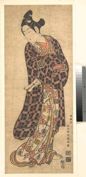 Ishikawa Toyonobu: The Actor Sanogawa Ichimatsu I Standing - Metropolitan Museum of Art