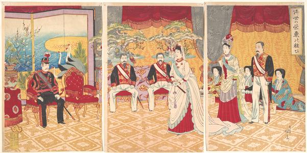渡辺延一: Imperial Prosperity: Ceremony in the Eastern Capital - メトロポリタン美術館