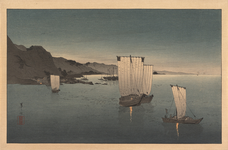 Kahô: Fishing Boats at Dusk - Metropolitan Museum of Art