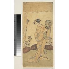一筆斉文調: The Second Segawa Kikunojô in the Role of Reizei in