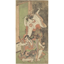 Ippitsusai Buncho: Ichikawa Monnosuke II as a Woman - Metropolitan Museum of Art