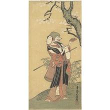 一筆斉文調: A Fox Dance from the Drama The Thousand Cherry Trees - メトロポリタン美術館