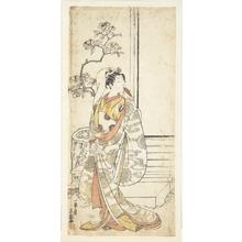 Ippitsusai Buncho: The Actor Sawamura Sojuro I, 1689–1756 in an Unidentified Female Role - Metropolitan Museum of Art