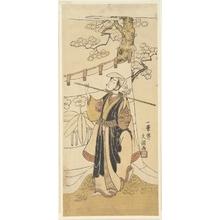 Ippitsusai Buncho: The Actor Yamashita Kyonosuke in the Role of Tamarimaru - Metropolitan Museum of Art