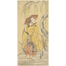 Ippitsusai Buncho: Arashi Otohachi I - Metropolitan Museum of Art