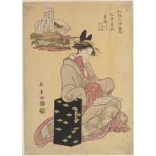 長喜: The Courtesan Kisegawa of Matsubaya - メトロポリタン美術館