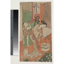 Suzuki Harunobu: On the Veranda - Metropolitan Museum of Art