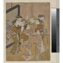 Suzuki Harunobu: Daikoku Dôagé - Metropolitan Museum of Art