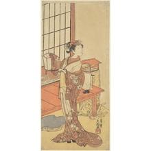 Ippitsusai Buncho: Segawa Kikunojo II - Metropolitan Museum of Art