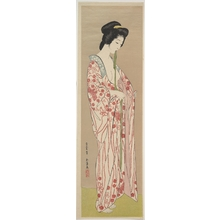 Hashiguchi Goyo: Woman Dressing - Metropolitan Museum of Art