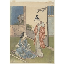 Suzuki Harunobu: A Girl Writing a Letter - Metropolitan Museum of Art
