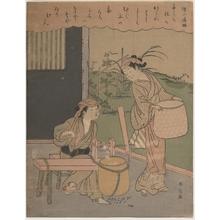 Suzuki Harunobu: Poem by Henjô Sojô - Metropolitan Museum of Art