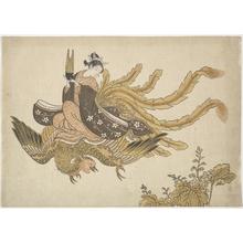 鈴木春信: Disguised Immortal - メトロポリタン美術館