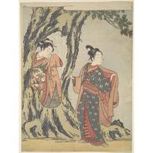 鈴木春信: Two Young People - メトロポリタン美術館