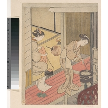 Suzuki Harunobu: The Returning Sails of the Towel Rack - Metropolitan Museum of Art