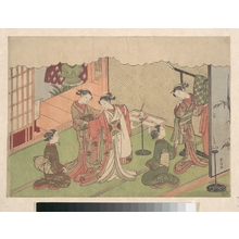 Suzuki Harunobu: The Marriage Ceremony - Metropolitan Museum of Art