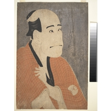 Toshusai Sharaku: Arashi Ryûzô I as Ishibe Kinkichi in the Play