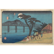 Utagawa Hiroshige: Nagakubo Station - Metropolitan Museum of Art