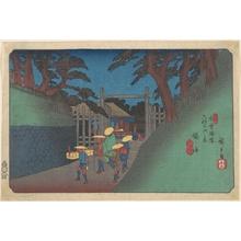 Utagawa Hiroshige: Fukushima Station - Metropolitan Museum of Art