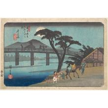 Utagawa Hiroshige: Nagakubo - Metropolitan Museum of Art