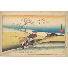 歌川広重: Yase no Sato - メトロポリタン美術館
