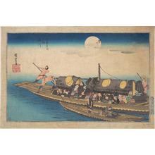 Utagawa Hiroshige: Yodogawa - Metropolitan Museum of Art