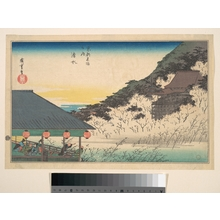 Utagawa Hiroshige: Kiyomizu - Metropolitan Museum of Art