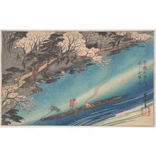 歌川広重: Arashiyama Manka - メトロポリタン美術館