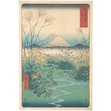 歌川広重: Kai, Otsuki no Hara - メトロポリタン美術館