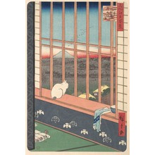 歌川広重: Revelers Returned from the Tori no Machi Festival at Asakusa, from the series One Hundred Famous Views of Edo - メトロポリタン美術館