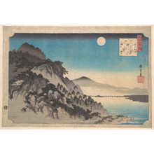 Utagawa Hiroshige: The Autumn Moon at Ishiyama on Lake Biwa - Metropolitan Museum of Art