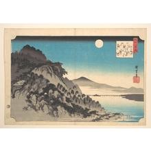 Utagawa Hiroshige: The Autumn Full Moon at Ishiyama - Metropolitan Museum of Art