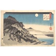 Utagawa Hiroshige: Autumn Full Moon at Ishiyama - Metropolitan Museum of Art