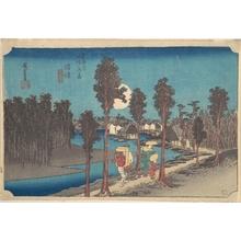 歌川広重: Numazu Ki Kure - メトロポリタン美術館