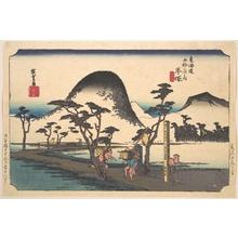 歌川広重: Hiratsuka, Nawate Do - メトロポリタン美術館