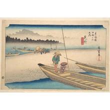 歌川広重: Mitsukei Tenryugawa - メトロポリタン美術館