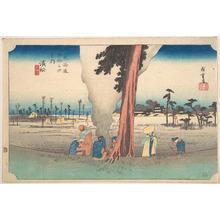 歌川広重: Hamamatsu, Toko no Zu - メトロポリタン美術館