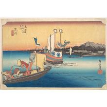 Utagawa Hiroshige: Arai, Tosen - Metropolitan Museum of Art