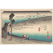 Utagawa Hiroshige: Futagawa, Saru ga Baba - Metropolitan Museum of Art