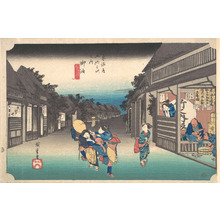 Utagawa Hiroshige: Goyu, Tabibito Ryujo - Metropolitan Museum of Art