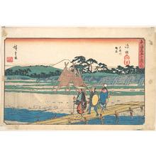 歌川広重: Shimada - メトロポリタン美術館