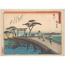 歌川広重: Kakegawa; Akiba-san Embo - メトロポリタン美術館