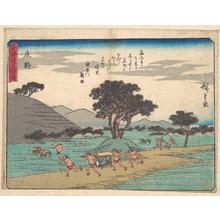 歌川広重: Shono - メトロポリタン美術館