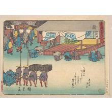 歌川広重: Seki - メトロポリタン美術館
