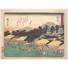 歌川広重: Hamamatsu - メトロポリタン美術館